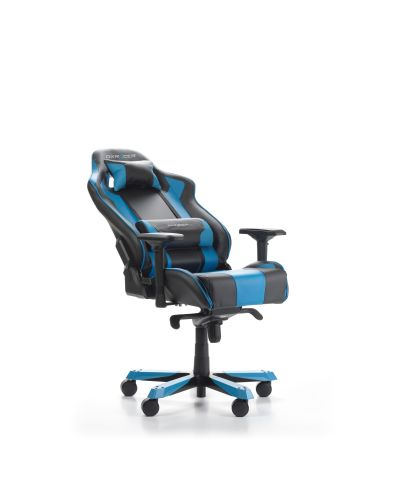 Геймърски стол DXRacer - серия KING, черен/син - OH/KS06/NB - 2