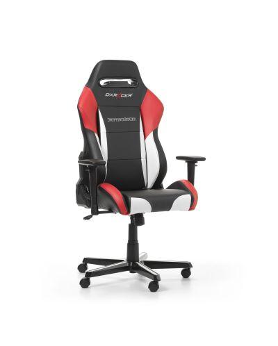 Геймърски стол DXRacer - серия DRIFTING, черен/бял/червен - OH/DM61/NWR - 8