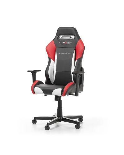 Геймърски стол DXRacer - серия DRIFTING, черен/бял/червен - OH/DM61/NWR - 10
