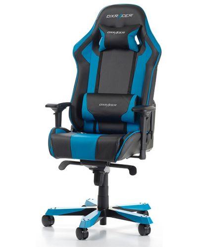 Геймърски стол DXRacer - серия KING, черен/син - OH/KS06/NB - 1