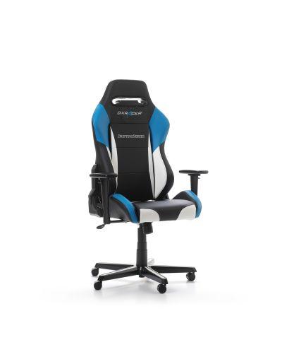 Геймърски стол DXRacer - серия DRIFTING, черен/бял/син - OH/DM61/NWB - 8