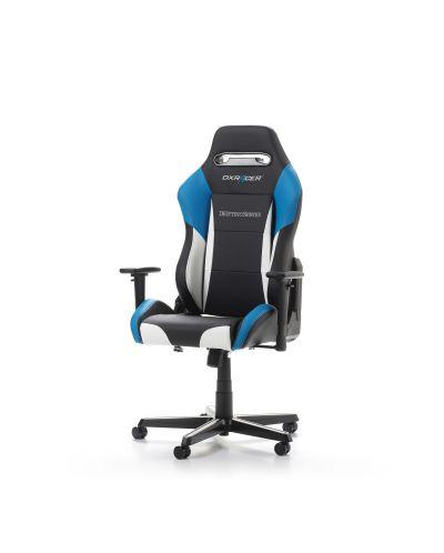 Геймърски стол DXRacer - серия DRIFTING, черен/бял/син - OH/DM61/NWB - 10