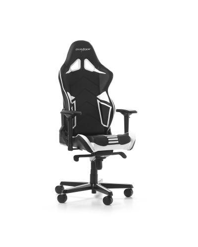 Гейминг стол DXRacer OH/RV131/NW - серия RACING V2, черен/бял - 9