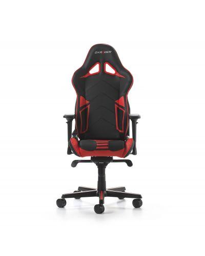 Гейминг стол DXRacer OH/RV131/NR - серия RACING V2, черен/червен - 7
