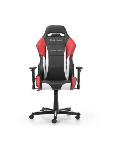 Геймърски стол DXRacer - серия DRIFTING, черен/бял/червен - OH/DM61/NWR - 7