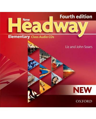 Headway, 4th Edition Elementary: Class Audio CDs (3) 9075 - 1