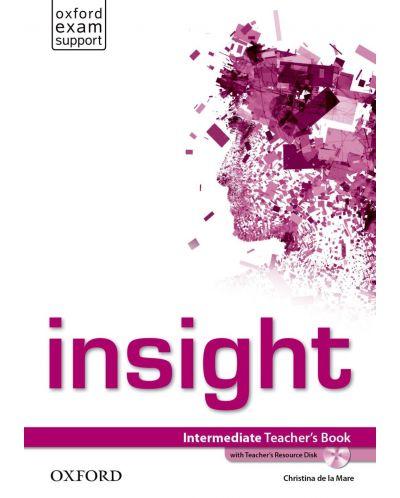 Книга за учителя Insight Intermediate Teacher's Book & Teachers DVD-ROM Pack - 1