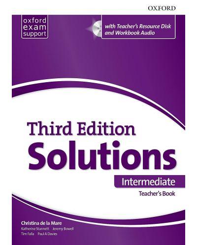 Книга за учителя Solutions 3E Intermediate ESS TB & RES Disk Pack - 1