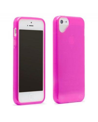 Olo Glacier Snap On TPU Case за iPhone 5 -  розов - 3