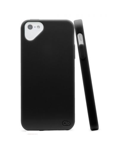 Olo Glacier Snap On TPU Case за iPhone 5 - черен - 1