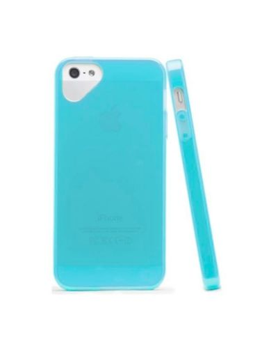 Olo Glacier Snap On TPU Case за iPhone 5 -  син - 2