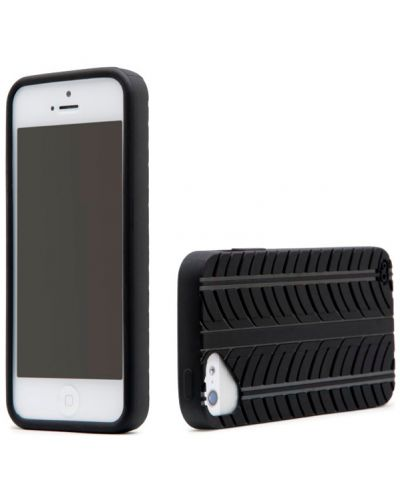 Olo Fashion Tread за iPhone 5 -  черен - 2