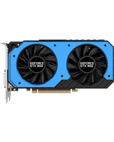 Видеокарта PALIT Nvidia GeForce GTX 950 StormX Dual (2GB GDDR5) - 2