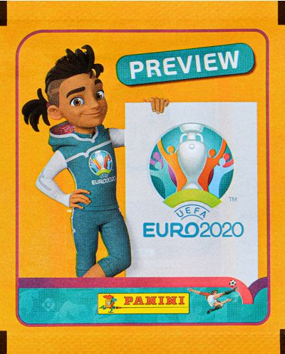 Panini Euro 2020 Preview - Пакет с 5 бр. стикери - 1