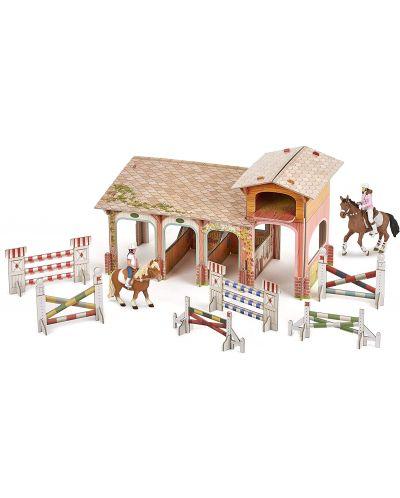 Сглобяем модел Papo Horses, foals and ponies – Клуб по езда, с фигурки - 1
