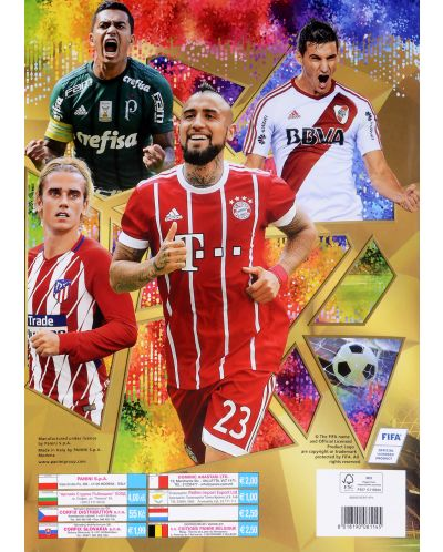 Стартов Пакет - Албум с 25 стикера Panini FIFA 365 - 2018 - 4