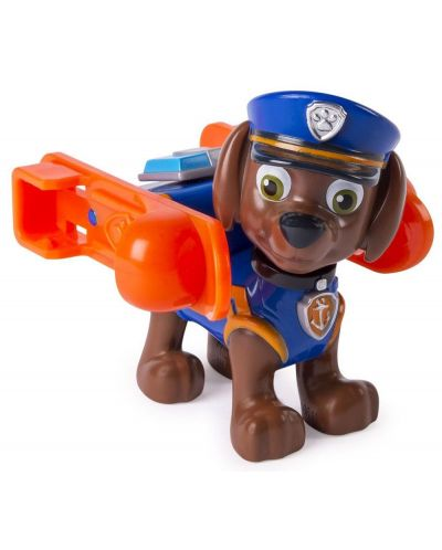 Фигура със значка Spin Master Paw Patrol - Ultimate Rescue, Зума - 1