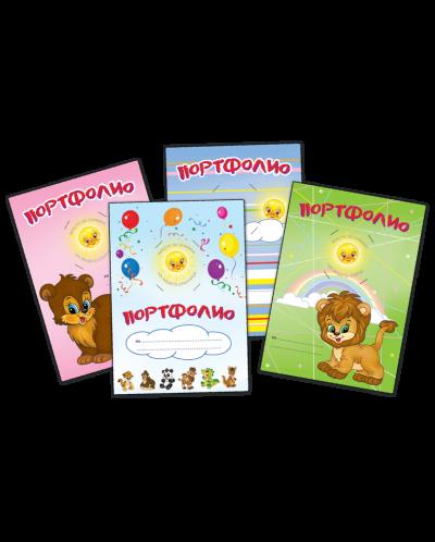 papka-za-portfolio-1-zelena-s-lavche-zlatnoto-pate - 2
