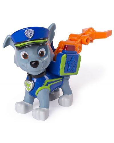 Фигура със значка Spin Master Paw Patrol - Ultimate Rescue, Роки - 2