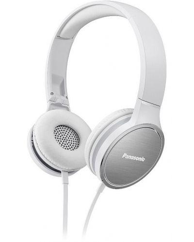 Слушалки с микрофон Panasonic RP-HF300ME-Q - бели - 1