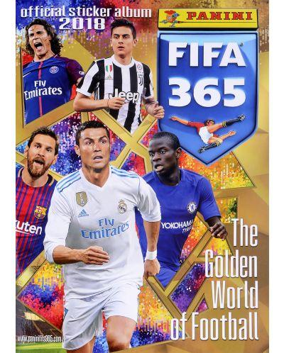 Албум за стикери Panini FIFA 365 - 2018 - 1