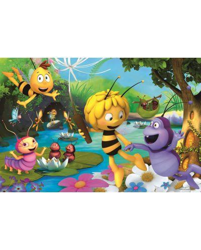 Пъзел Trefl от 100 части - Пчеличката Мая и приятели - 1
