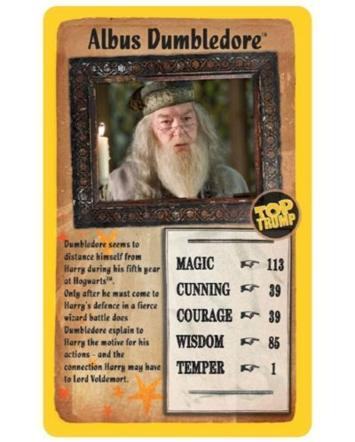 Игра с карти Top Trumps - Harry Potter and the Order of the Phoenix - 3