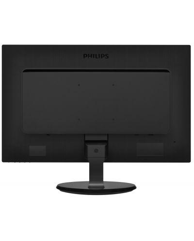 """Philips 246V5LSB, 24"""" Wide TN LED, 5ms, 10M:1 DCR, 250 cd/m2, 1920x1080 FullHD, DVI, Black - 3"""