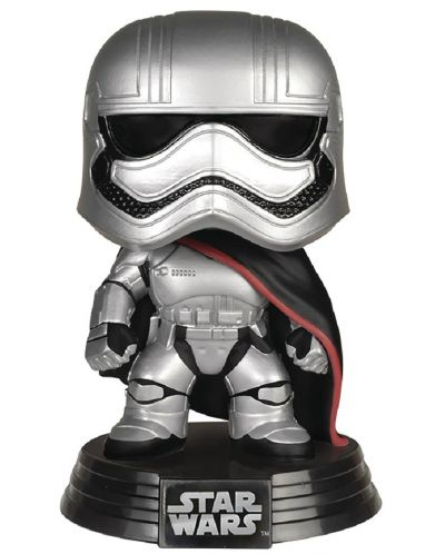 Фигура Funko POP! Star Wars: Captain Phasma, #65 - 1