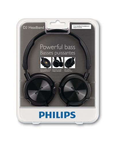 Слушалки Philips SHL3000 - черни - 4