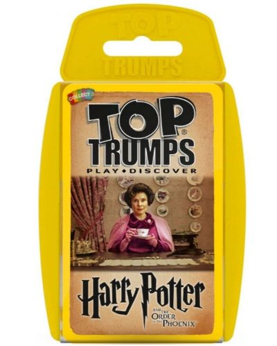 Игра с карти Top Trumps - Harry Potter and the Order of the Phoenix - 1