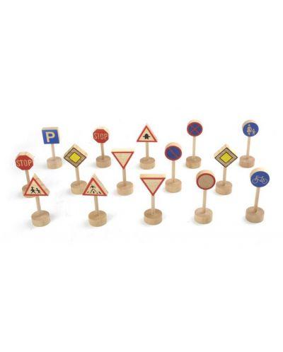 Комплект детски играчки Pino - Пътни знаци - 1