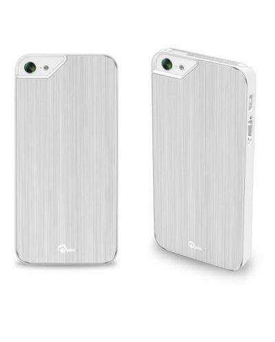 Pinlo Concize Metal II за iPhone 5 -  бял - 1