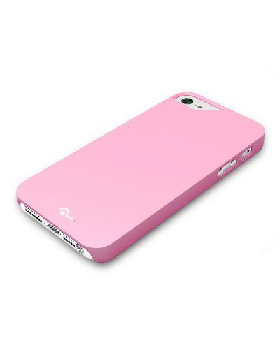 Pinlo Rubber Slice за iPhone 5 -  розов - 2