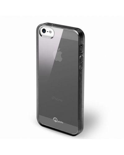 Pinlo Concize Case TPU за iPhone 5 -  черен - 2