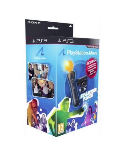 Playstation Move Starter Pack (Motion Controller + Eye Camera) - 1
