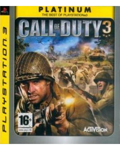 Call of Duty 3 - Platinum (PS3) - 1