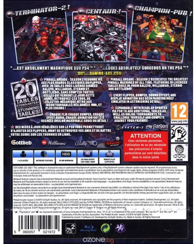 Pinball Arcade Season 2 (PS4) - 7