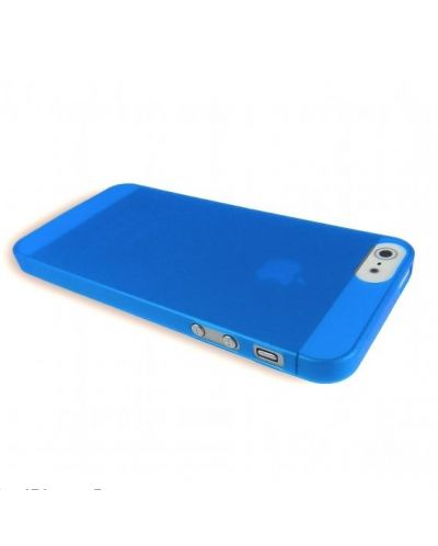 Pinlo Slice 3 за iPhone 5 -  син-прозрачен - 3