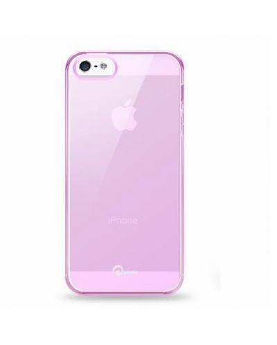 Pinlo Concize Case TPU за iPhone 5 -  розов - 1