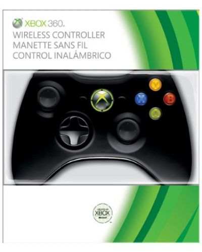 Xbox 360 Wireless Controller - Black - 1