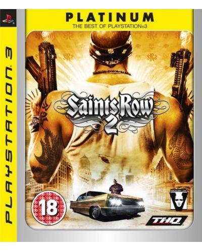 Saint's Row 2 - Platinum (PS3) - 1