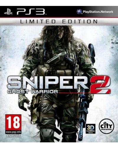 Sniper: Ghost Warrior 2 - Limited Edition (PS3) - 1