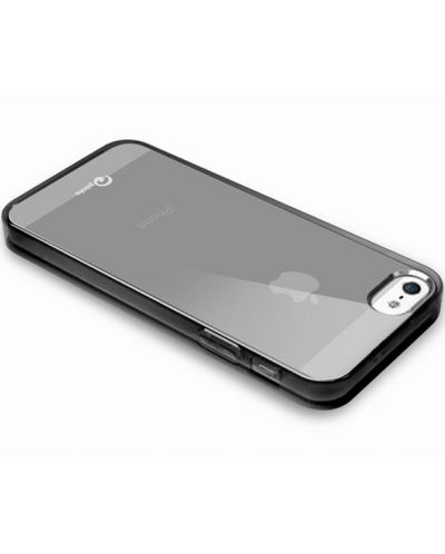 Pinlo Concize Case TPU за iPhone 5 -  черен - 3