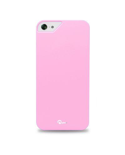 Pinlo Rubber Slice за iPhone 5 -  розов - 1