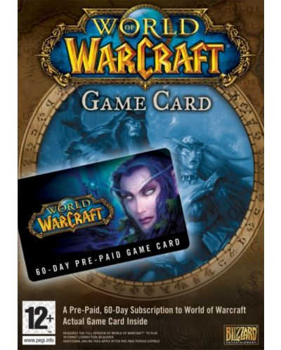 World of Warcraft 60 Day Pre-Paid Game Time Card (PC) - 1