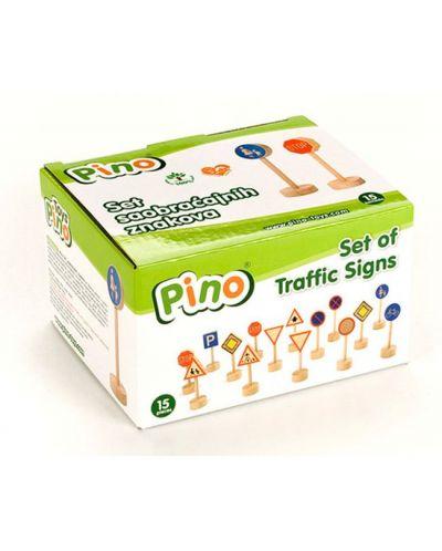 Комплект детски играчки Pino - Пътни знаци - 4