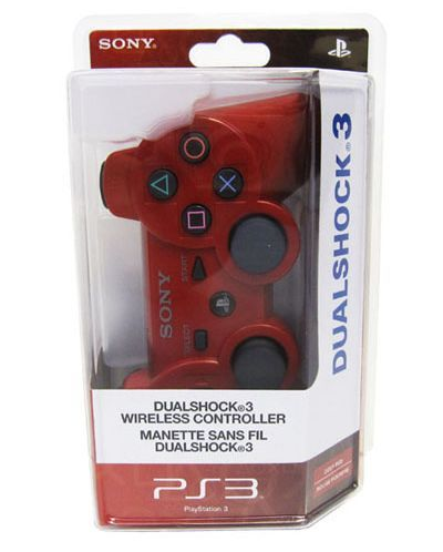 SONY DUALSHOCK 3 Wireless Controller - Deep Red - 1