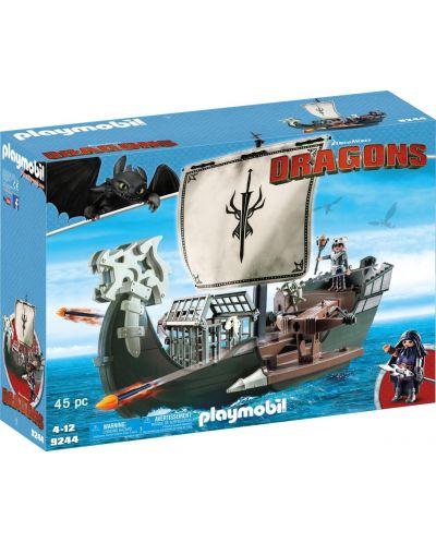 Конструктор Playmobil Dragons - Кораб, 45 части - 1