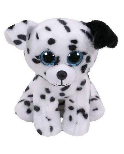 Плюшена играчка TY Toys - Далматинец Catcher, 15 cm - 1